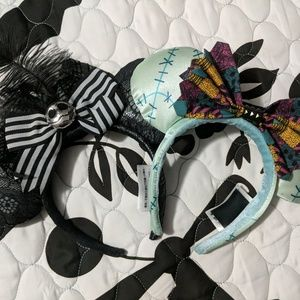 Jack and Sally Disney NBC Micky Ears